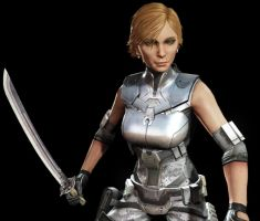 Defiance New Outfit and Weapon by aleenaelyn