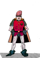 Robin AKA Carrie Kelley DAILY SKETCH CHALLENGE by exspasticcomics