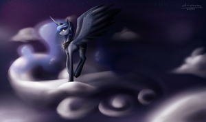 Princess of The Night by lRUSU