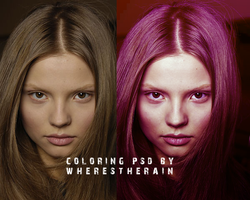 Coloring PSD 5 by wherestherain