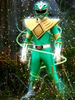 Green Power Ranger by DesignsByTopher