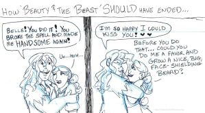 How Beauty and the Beast SHOULD have ended... by brensey