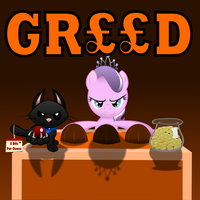 Diamond and Dazzle: Greed by MagerBlutooth