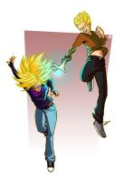 Saiyan Moment by PictorIocus