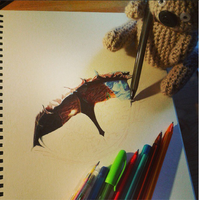 Smaug WIP by Cindy-R