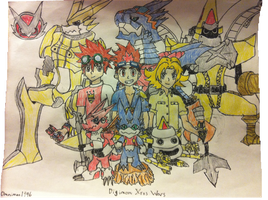 Digimon Xros Wars by Omnimon1996