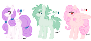 Pastel Ponies ( ALL ADOPTED ) by Ezilyn