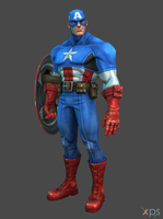 MCoC Captain America by thePWA