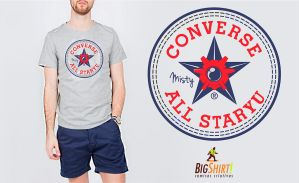 CONVERSE ALL STARYU SHIRT by SpiderBoo