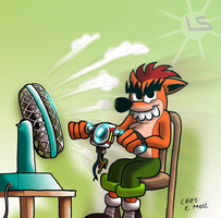 Fake Crash's Motorbike by Lars99