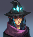 Witch Girl by BlandStuffTastesNice