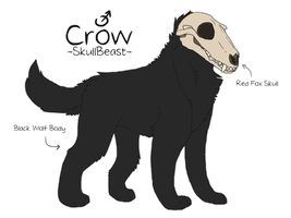 Crow Reference Sheet by Skiachtro