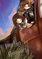 IMPING IN HOGWARTS PART 1 LOL by WeruQ