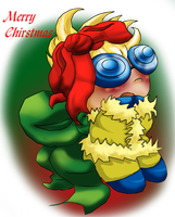 PI:: Chibi Bugy for Chirstmas by Gone4awhile2