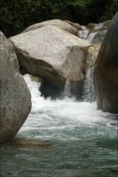 Water Through the Rocks by Cleonor