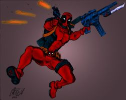 Deadpool - Gift by pascal-verhoef