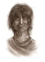 Shaggy homeless ? guy by kkcooly