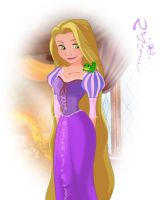 Tangled-Rapunzel 01 by Nippy13