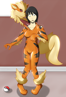 Arcanine Living Suit by DSAPROX
