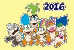 Paper Koopalings 2016 by wackko200
