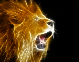 Lion Fractal by xShiirley