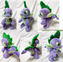 Spike plushie by Rens-twin