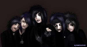 Black Veil Brides! by PidonKatachi