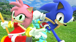 Sonamy in SSB4 by Toad900