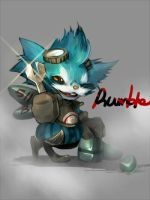 leagueoflegends-rumble by 9ooo