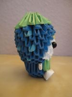 3D Origami - Blueberry Boy - 2 by Mixowelle