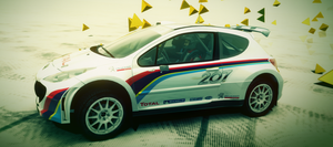 Peugeot 207 S2000 - 208 R5-Look-A-Like by I-W-E