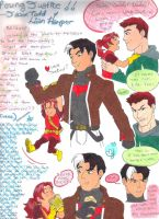 Young Justice!! Jason Todd y Lian Harper by BobsCookie