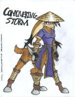 Conquering Storm 2nd request by WMDiscovery93