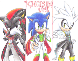 The chosen one old cover by sonicartist16