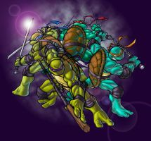 TMNT ala GreatLP by TheRealSurge