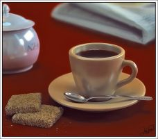 coffee scene by proenca