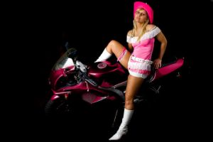 pink rider by HNC