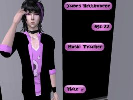 James Hellbourne Sim! by XReinaxStarX