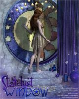 Stardust Window and Poses by cosmosue