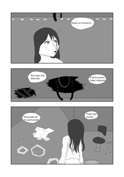 CAP 1- War of Existance Fan comic. P-2 (ESP) by Bluzumara