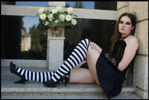 Gothic Lady by MySweetQueen