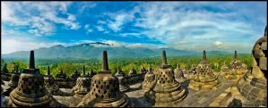 Borobudur beautiful by partoftime