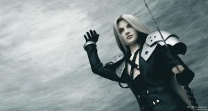 Sephiroth: The final battle 01 by scargeear