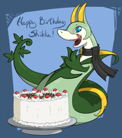 Shikka Birthday by whmSeik