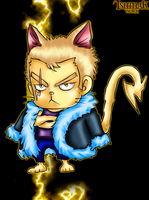 Kitten Laxus (Colored) by Ishthak