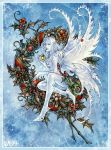 Winter Wreath by Candra