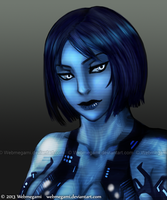 Speed paint - Cortana by Webmegami
