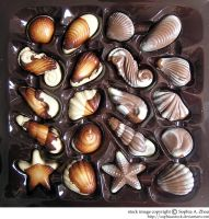 stock 582: chocolate sea life by sophiaastock