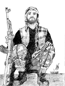 afghan guerilla by endrius