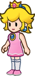 Super Paper Mario -- Mario Golf Peach by sindel545
